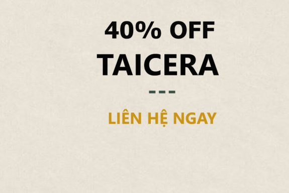 giảm 40% gạch lát nền Taicera