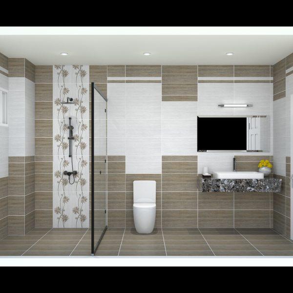 Gạch phòng tắm (300*600) mm