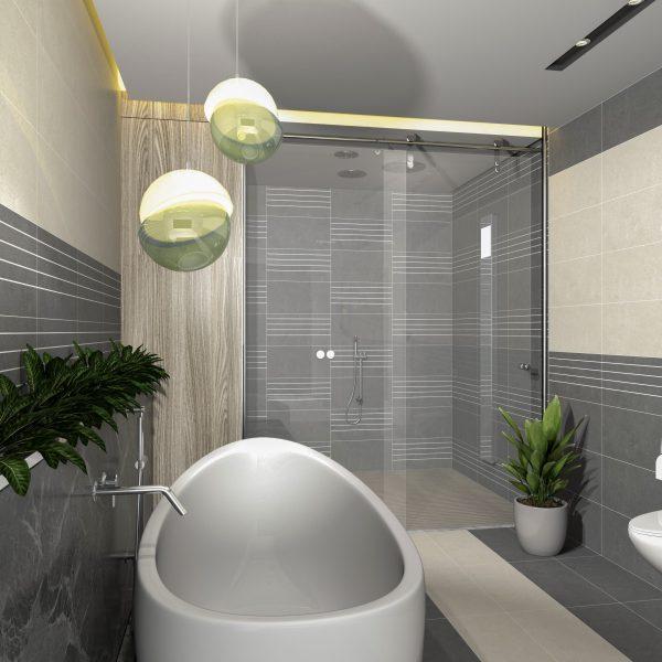 Gạch ốp lát nhà vệ sinh (300x600) mm GB-FS3611, GB-FS3612